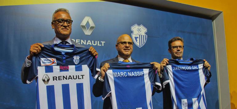 Football : Renault Maroc, nouveau sponsor de l'IRT