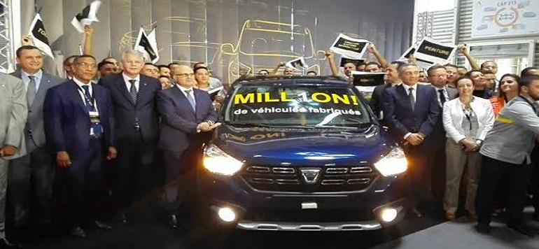 Un million de véhicules produits à l'usine de Renault Tanger en cinq ans
