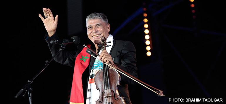 Festival Timitar : l'énergie débordante de l'artiste vedette du Chaâbi Abdelaziz Stati