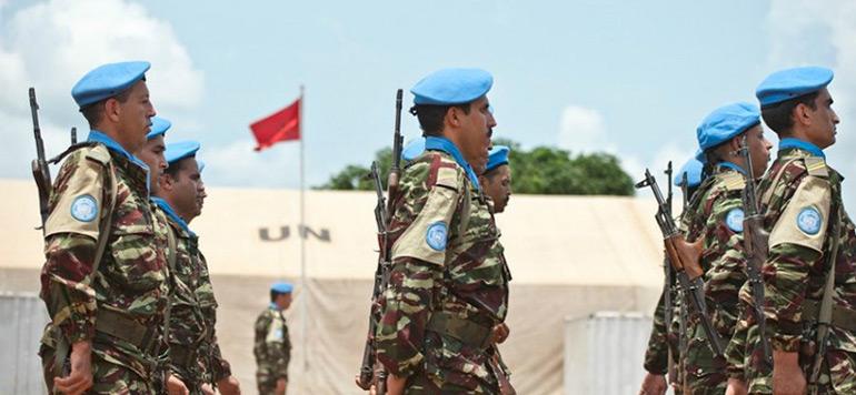 Mort d'un casque bleu marocain : le SG de l'ONU présente ses condoléances au Maroc