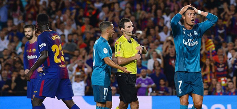 Espagne: Cristiano Ronaldo suspendu cinq matches