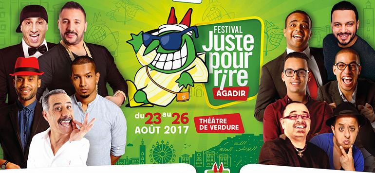 Agadir : coup d'envoi de la 1ère édition du festival «Juste pour rire Agadir»