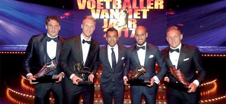 El Ahmadi, meilleur joueur de Hollande