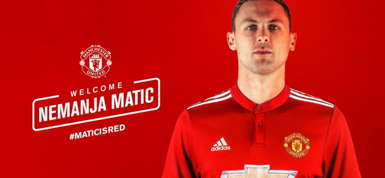 Transfert: Matic rejoint Mourinho à Manchester United
