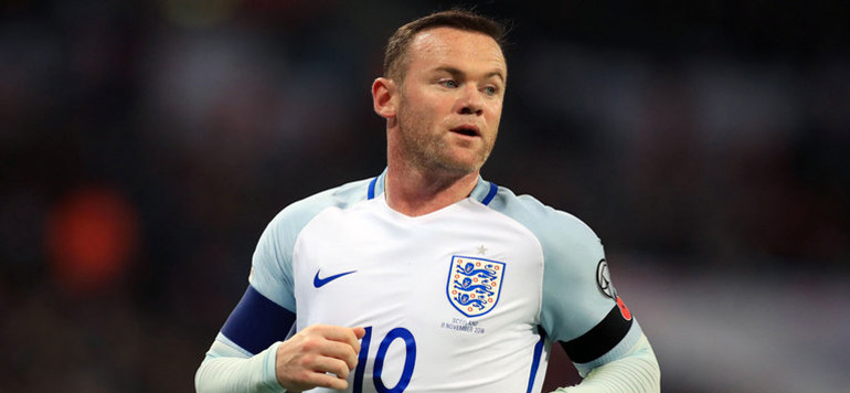 Football : Wayne Rooney annonce sa retraite internationale