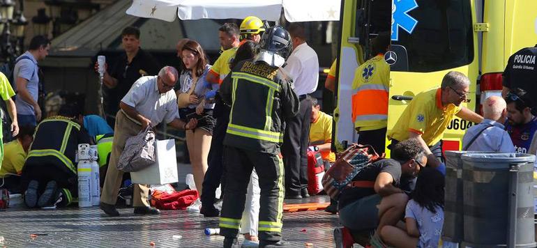 L'Espagne secouée par deux attaques terroristes en moins de dix heures