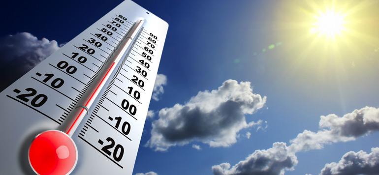 Météo: voici les températures prévues pour ce samedi