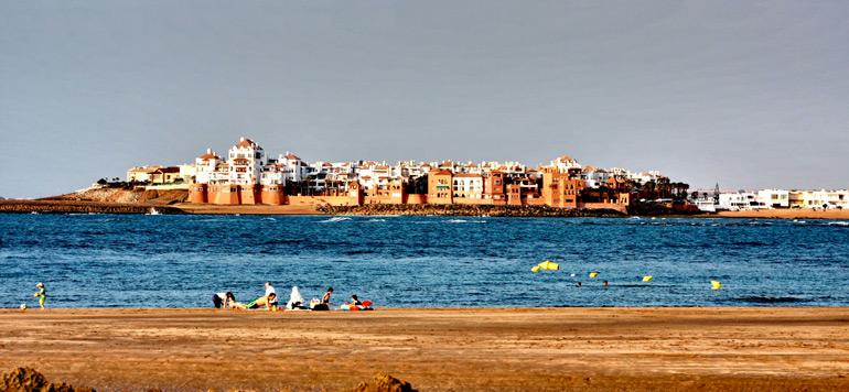 Le Pavillon bleu hissé sur la plage de Bouznika