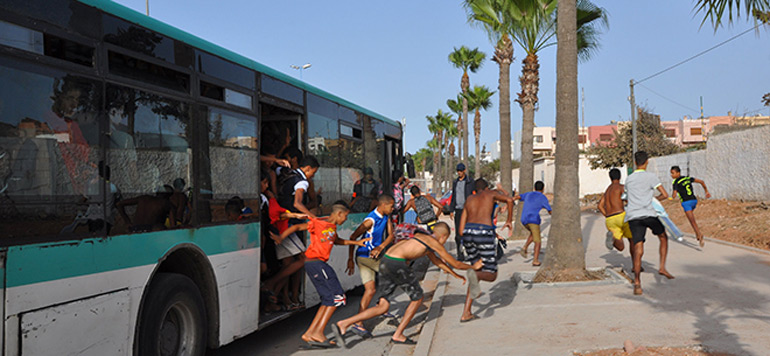 Casablanca : trois mineurs arrêtés pour de vol avec violence dans un bus
