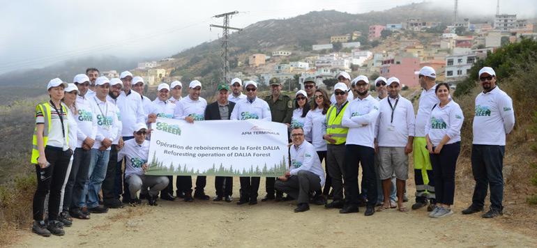 APM Terminals Tangier : Un mois de septembre sous le signe de l'environnement