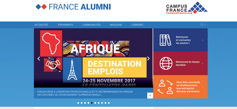 Une plateforme des alumni de l'enseignement supérieur français se met en place