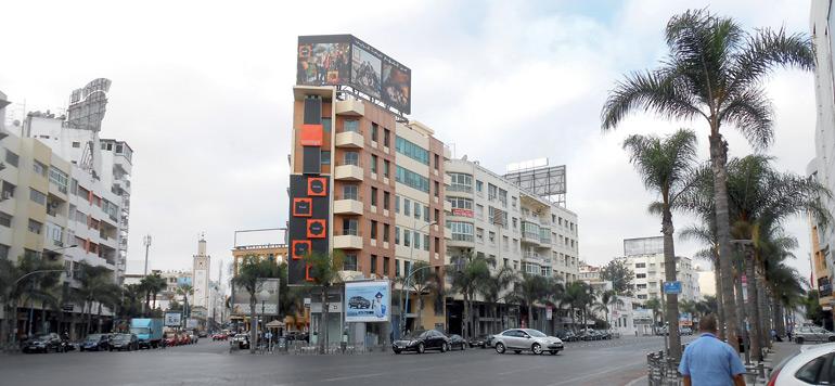 Casablanca : le quartier commercial du Maârif a perdu de son faste