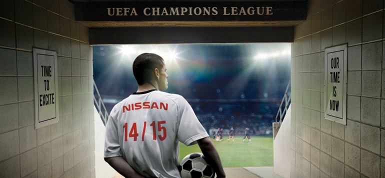 Nissan partenaire officiel de la Ligue des champions UEFA