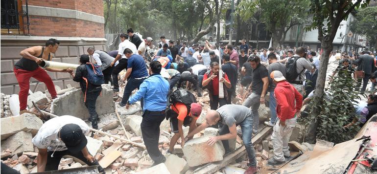 Puissant séisme au Mexique : Le bilan grimpe à 122