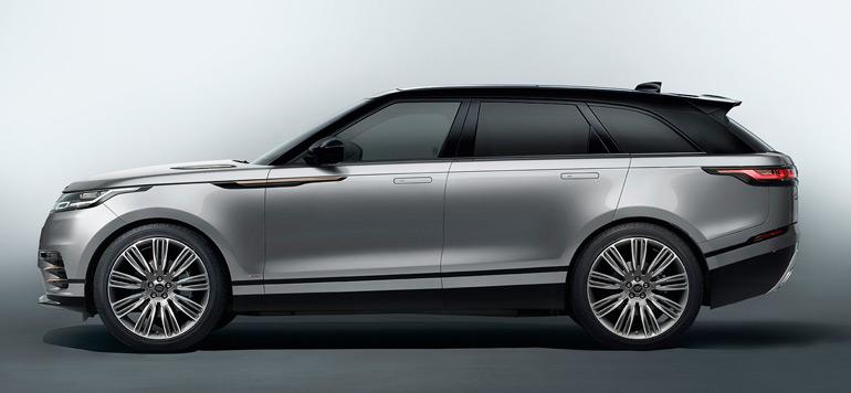 Smeia dévoile le Range Rover Velar en avant-première