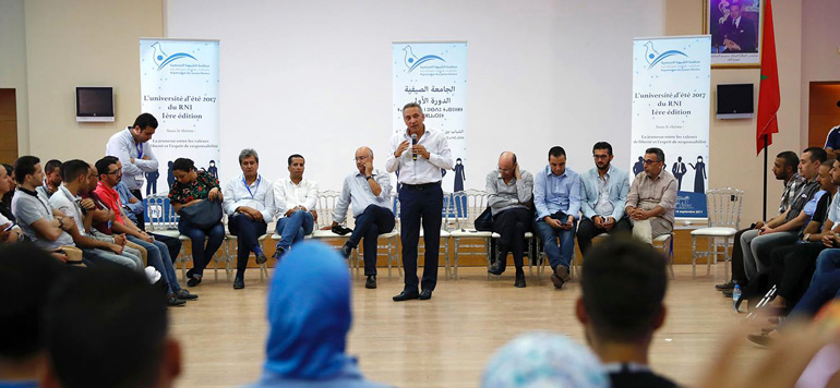 Université d'été du RNI : Questions à Mustapha Baitas,Député coordinateur et directeur du siège du RNI