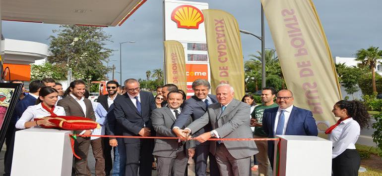 Vivo Energy initie un nouveau concept de station-service