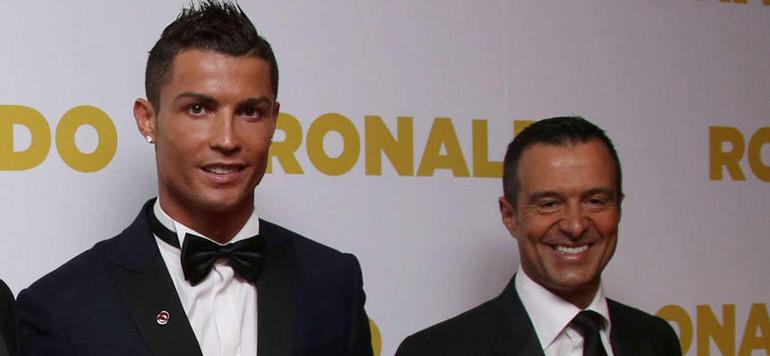 Fraude fiscale: Jorge Mendes convoqué en vue d'une mise en examen dans l'affaire Ronaldo