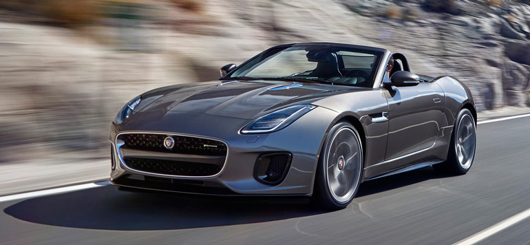 Lancement de la nouvelle Jaguar F-TYPE quatre cylindres à l'international