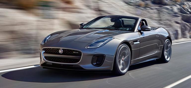 Lancement de la nouvelle Jaguar F-TYPE quatre cylindres à l'international