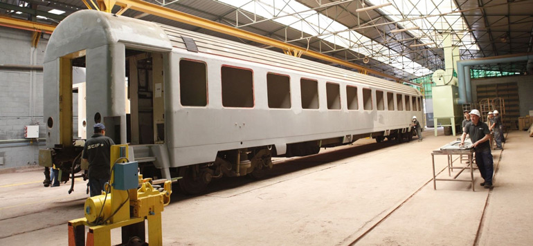 Le Groupement des industries ferroviaires veut fabriquer le premier train made in Morocco