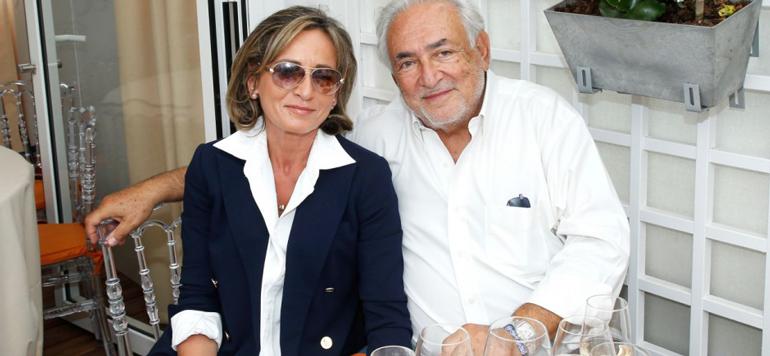 DSK s'est marié à Marrakech