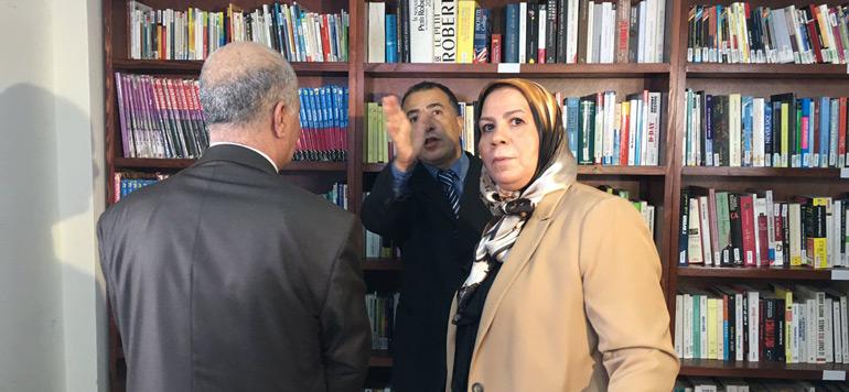 Les bibliothèques de l'espoir