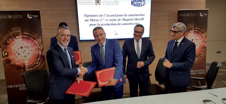 L'italien Magneti Marelli produira des amortisseurs à Tanger
