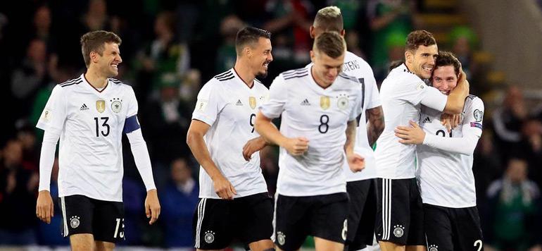Mondial-2018 : L'Angleterre et l'Allemagne qualifiées pour la Russie