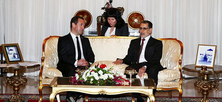Rabat : Arrivée du Premier ministre russe pour une visite de travail et d'amitié