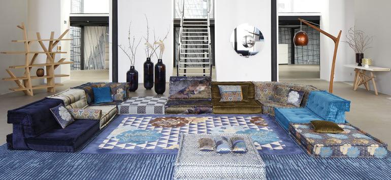 Roche Bobois fête sa collaboration avec le designer Kenzo Takada