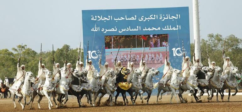 Salon du cheval d'El Jadida : Coup d'envoi du Grand Prix SM le Roi Mohammed VI de tbourida