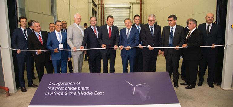 Tanger : Siemens Gamesa inaugure la première usine de pales d'éoliennes en Afrique