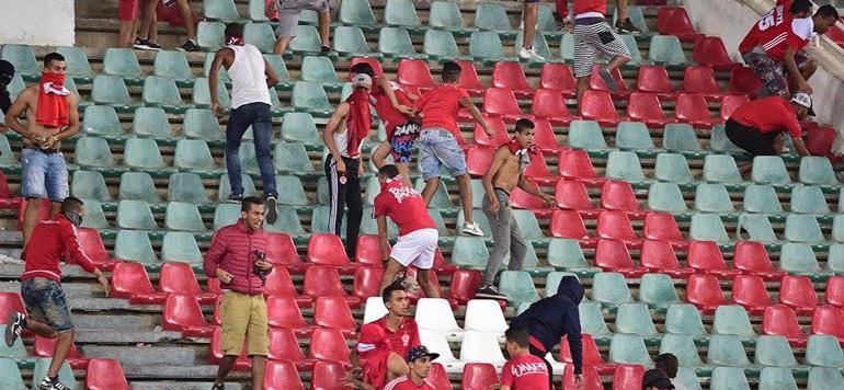 Coupe du trône : des actes de vandalisme suspendent le match WAC-RSB