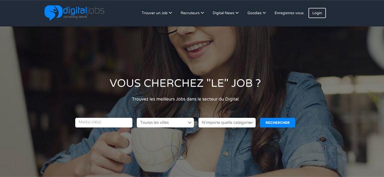 Un nouveau portail dédié aux métiers du digital
