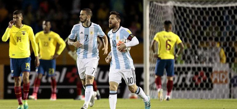 Mondial-2018 : Un Messi magistral envoie l'Argentine en Russie