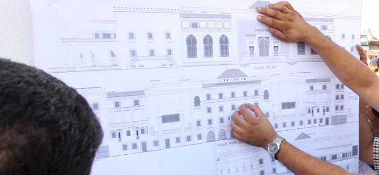 Fès : Le projet du palais de justice à moitié achevé