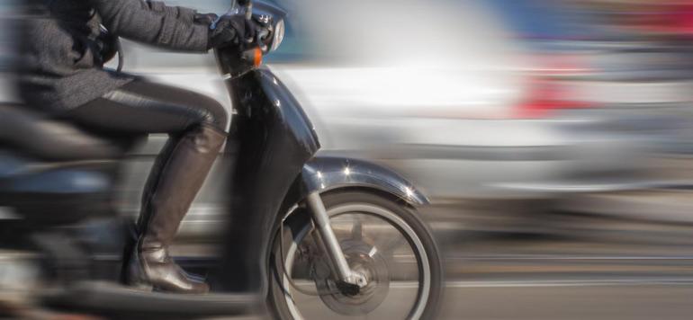 Casablanca : deux blessés dans un accident entre une moto et une rame de tramway