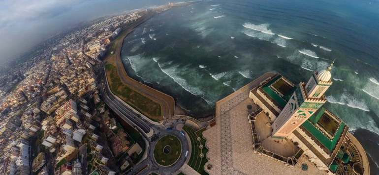 Dubaï fête Casablanca