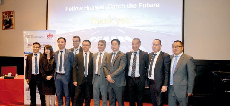 Disway distribue les solutions d'entreprise Huawei