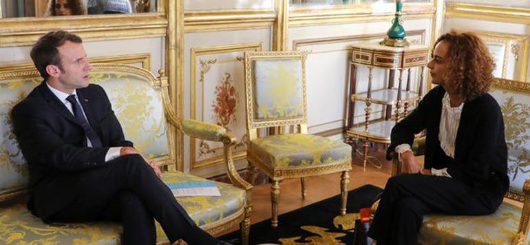 Leïla Slimani nommée représentante personnelle du président français pour la francophonie
