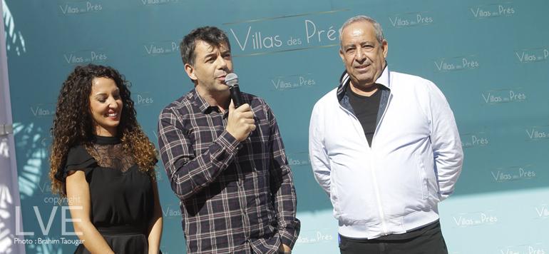 Stéphane Plaza fait la promotion du projet Villas des Prés
