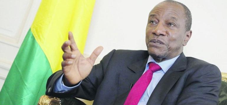 Arrivée à Tanger du président de l'Union africaine Alpha Condé