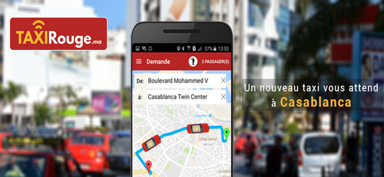 Taxirouge.ma, nouvelle appli VTC à Casablanca