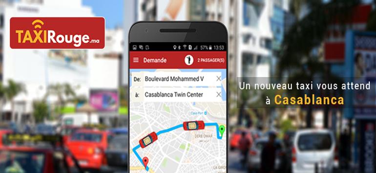 Taxirouge.ma, nouvelle appli VTC à Casablanca