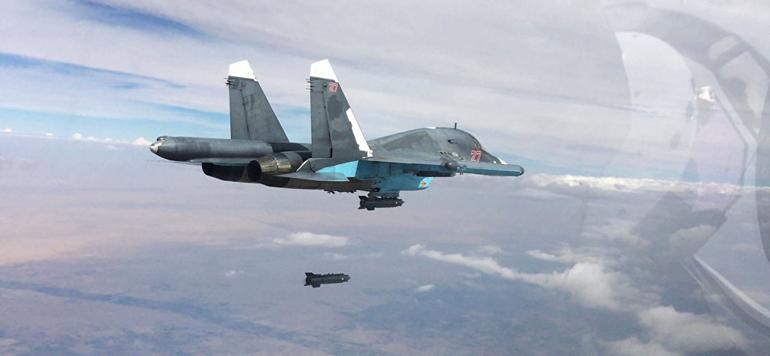 Plusieurs raids aériens russes tuent 34 civils dans l'est de la Syrie