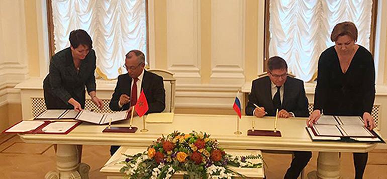Moscou : signature d'un accord entre le Maroc et la Russie dans le domaine judiciaire