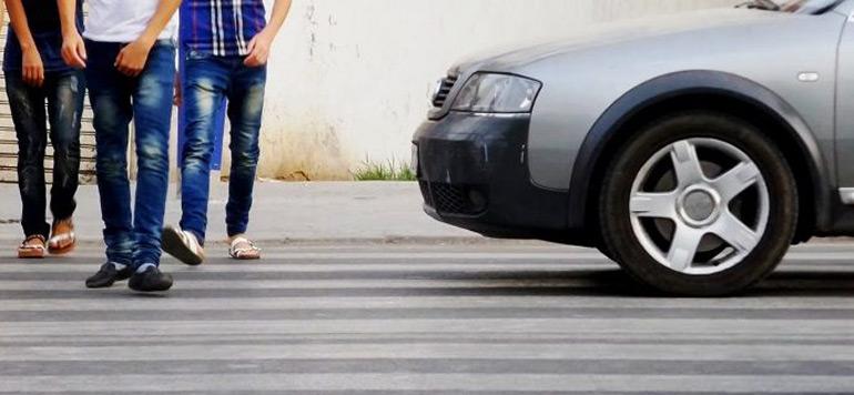 Amende piétons : L'application du code de la route vise leur protection