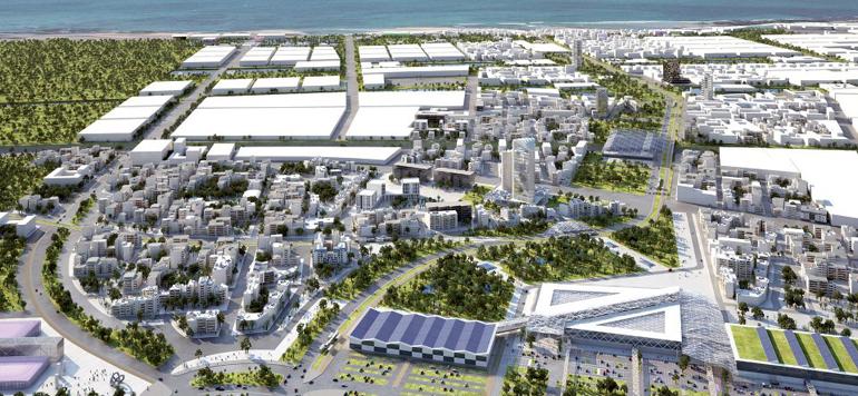 Eco-cité de Zénata : l'aménagement avance bon train