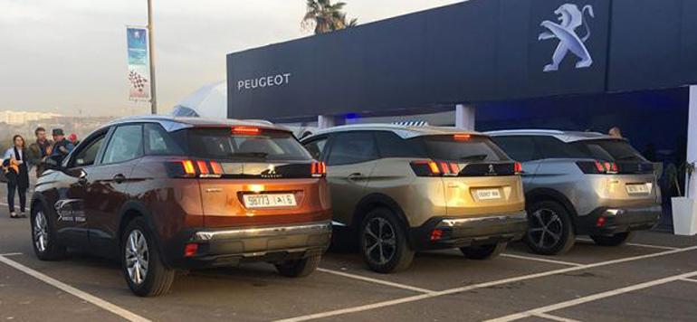 Des stages de pilotage pour les clients de Peugeot